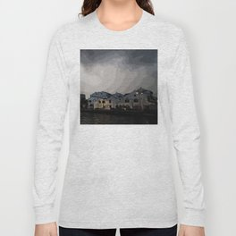 Evening at the Waterfront Long Sleeve T-shirt