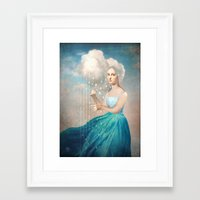rain Framed Art Prints featuring Melody of Rain by Christian Schloe