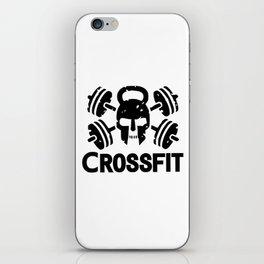 crossfit iPhone Skin