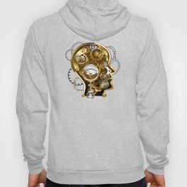 Steampunk Head with Manometer Hoody