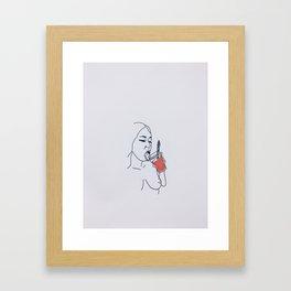 CEASAR SEASON Framed Art Print