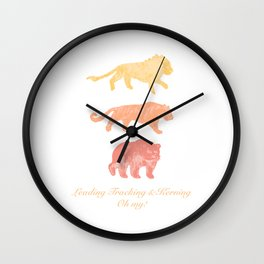 Leading, Tracking, & Kerning - Oh my! Wall Clock