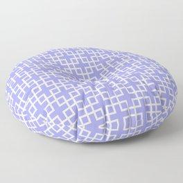 Square Overlay - lavender Floor Pillow