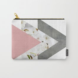 Blossoms Arrows Collage Carry-All Pouch