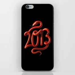 2013 - Year of the Snake iPhone Skin