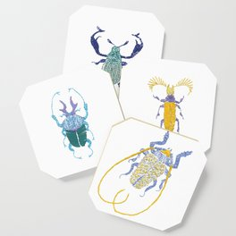 Stitches: Bugs Coaster