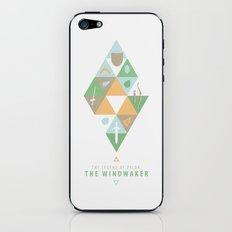 The Legend of Zelda: The Windwaker iPhone & iPod Skin