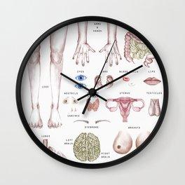 organ-ized Wall Clock