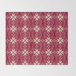 FLEUR DE COEUR Throw Blanket