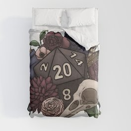 Necromancer D20 Tabletop RPG Gaming Dice Comforters
