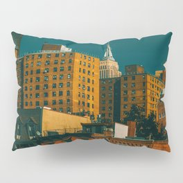 New York City Apartments (Color) Pillow Sham