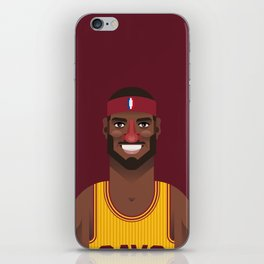 King James iPhone Skin