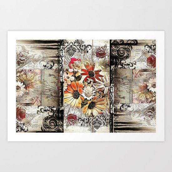 Inner Beauty Reflected Art Print