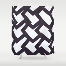Almost Houndstooth Shower Curtain