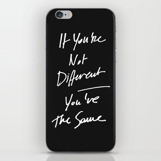 The Same iPhone & iPod Skin