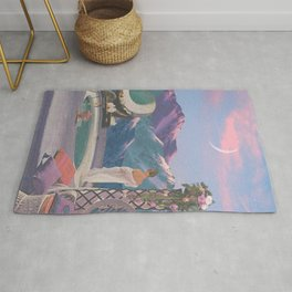 PINK COTTON SUNSET Rug