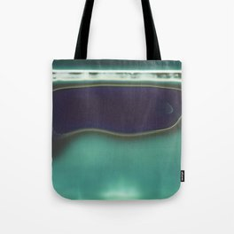 Instang Abstraction in Teal Tote Bag