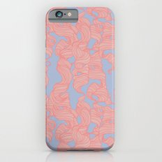 Trailing Curls // Pink & Blue Pastels Slim Case iPhone 6s