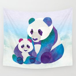 Alfie & Alice the Pandas Wall Tapestry