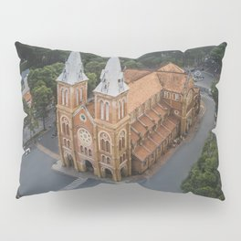 Notre-Dame Cathedral Basilica of Saigon Pillow Sham