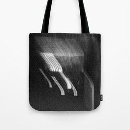 Being at the Drive-In B/W Tote Bag