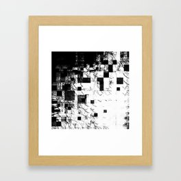Nature Barcoded and Decim8ted Framed Art Print