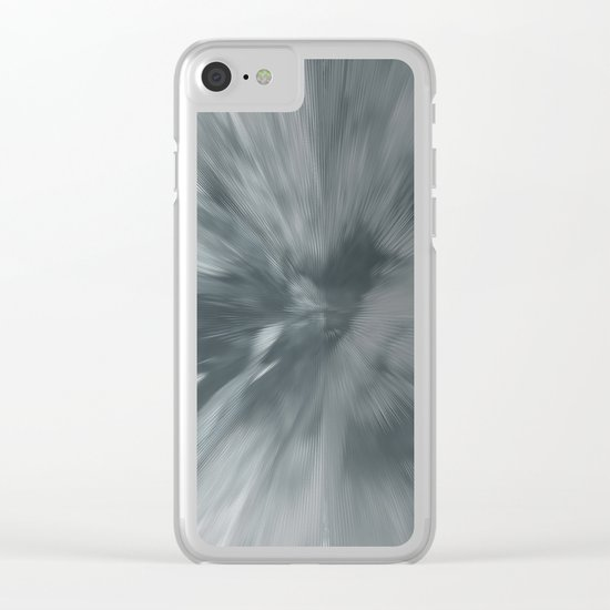 Abstract 317 Clear iPhone Case