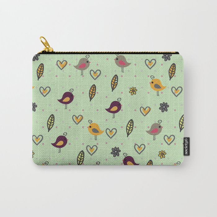 Cute Pattern #2 Carry-All Pouch