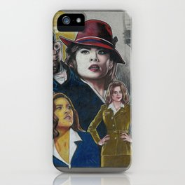 Agent Carter iPhone Case