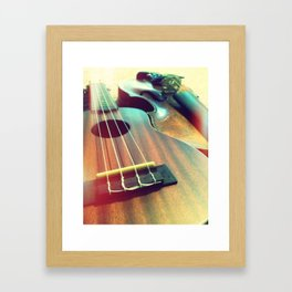 The Hipster and the Nerd  Framed Art Print
