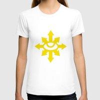 warhammer T-shirts featuring Warhammer 40k Black Legion Minimalist Poster by Milos Cakovan