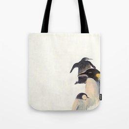 Pied- Billed Grebe Tote Bag