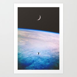 Simple Solitude Art Print