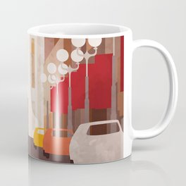 New York Manhattan watercolor Coffee Mug