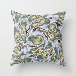 Turbulence in MTL01 Throw Pillow