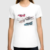 shoes T-shirts featuring Shoes by ARTDJG