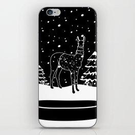 Christmas Llama iPhone Skin
