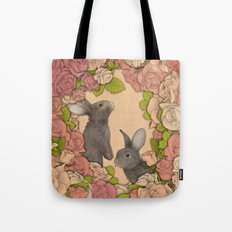 Rosie Rabbits Tote Bag