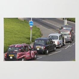 London Taxis Heathrow Airport Rug