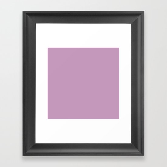 Granny's Purple Framed Art Print