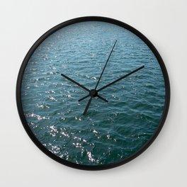diamonds on the bay Wall Clock