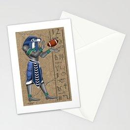 Seahawk Pharoah Stationery Cards