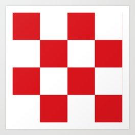 flag of North Brabant Art Print
