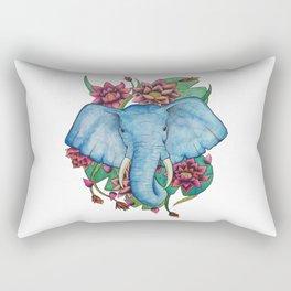 Lily Tusks Rectangular Pillow