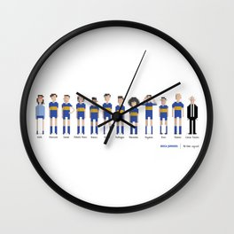 Boca Juniors - All-time squad Wall Clock