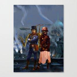 Steampunks Canvas Print