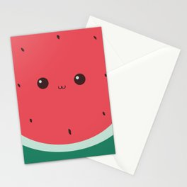 Watermelon Face Stationery Cards