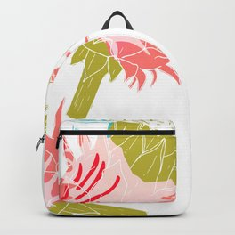 Pure flower Backpack