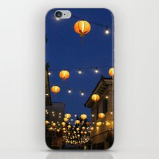 Chinatown Lanterns in L.A. iPhone & iPod Skin