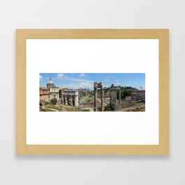 Roman Forum (Rome, Italy) Framed Art Print